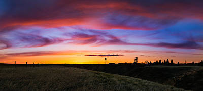 Photograph - Cotton Candy Sunrise Over The Galt by Dwayne Schnell