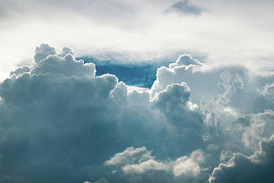 Sky Photograph - Cotton Clouds by Marc Wieland