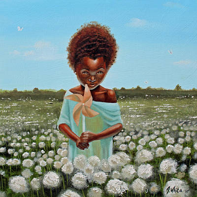 Painting - Cotton Grass by Jerome White