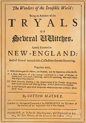 Cotton Mather, 1693 Art Print