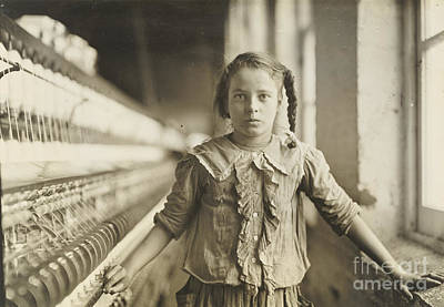 Cotton-mill Worker Art Print by Celestial Images