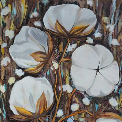 Painting - Cotton Plant by Terry  Hester