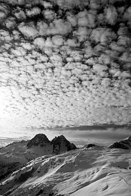 Photograph - Cotton Sky Chamonix France by Pierre Leclerc Photography