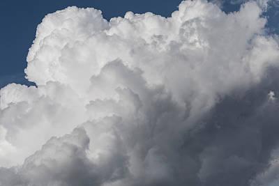 Photograph - Cotton Wool Clouds by David Pyatt