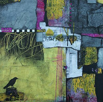 Mixed Media - Cottonwood Candy  by Laura Lein-Svencner