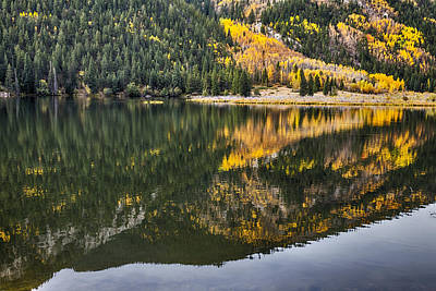 Photograph - Cottonwood Lake Reflections by James BO Insogna
