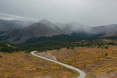 Photograph - Cottonwood Pass #1 by Dana Sohr