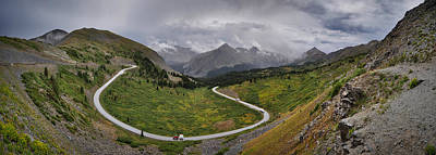 Photograph - Cottonwood Pass Drive by Kevin Munro