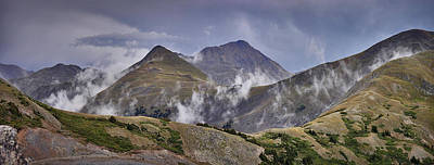 Photograph - Cottonwood Pass Peaks Panorama by Kevin Munro