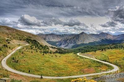 Photograph - Cottonwood Pass by Tony Baca