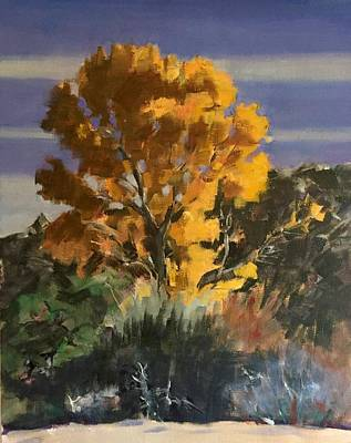 Painting - Cottonwood by Richard Willson