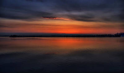 Digital Art - Couchiching Dawn by JGracey Stinson