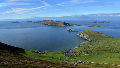Photograph - Coumeenole And Blasket Islands by Barbara Walsh