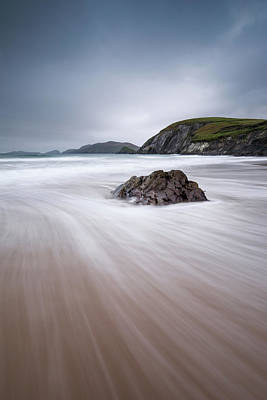 Photograph - Coumeenoole Beach- Dinegle Ireland by Peter McCabe