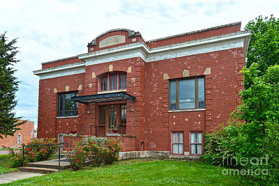 Photograph - Council Grove Carnegie Library by Catherine Sherman