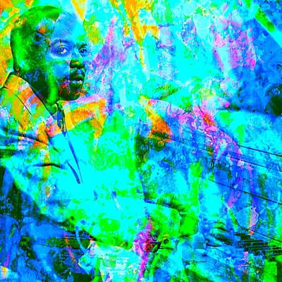Count Basie Art Print by Brian Broadway