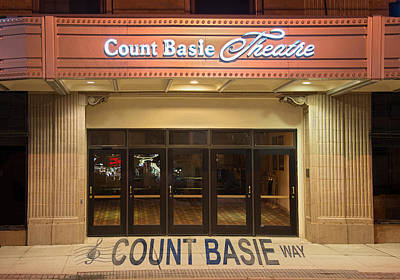 Count Basie Legacy In Red Bank Art Print