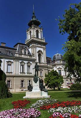 Photograph - Count Gyorgy Laszlo Festetics De Tolna Statue, Festetics Palace, Keszthely, Hungary by Elenarts - Elena Duvernay photo