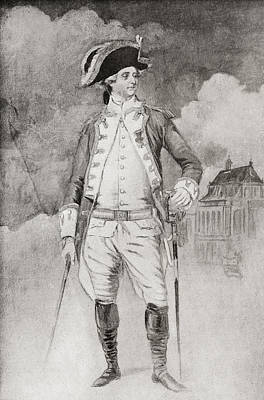 Provence Drawing - Count Of Provence, Future Louis Xviii by Vintage Design Pics
