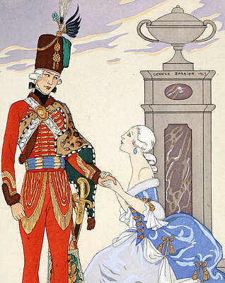 Count On My Oaths Art Print by Georges Barbier