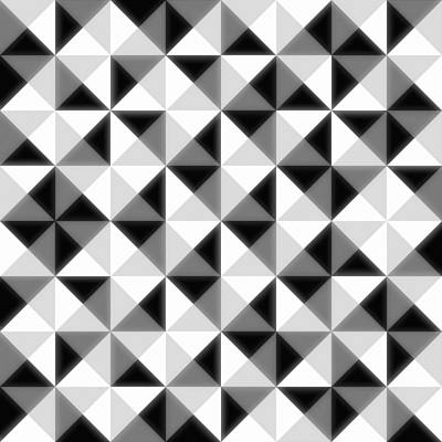 Pattern Digital Art - Count The Squares by Ron Brown