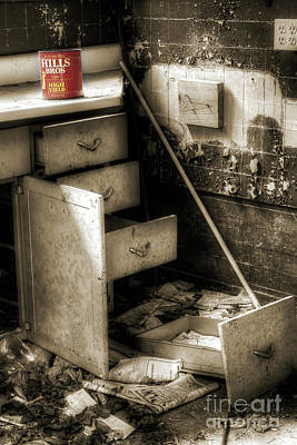Abandoned Houses Photograph - Counter Coffee by Michael Eingle