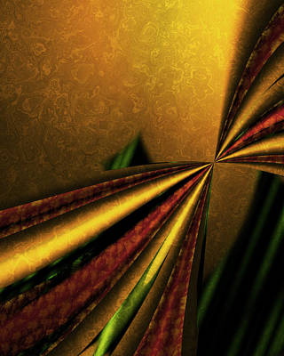 Counterpoint Digital Art - Counterpoint 1 by Vic Eberly