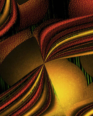Counterpoint Digital Art - Counterpoint 4 by Vic Eberly