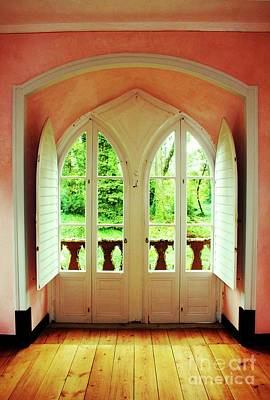 Detalhes Photograph - Countess Window by Raquel Daniell