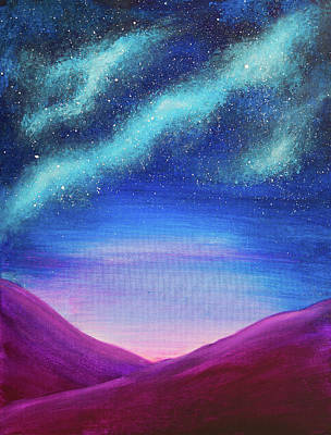 Painting - Counting Stars by Iryna Goodall