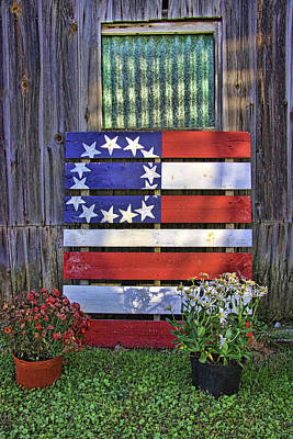 Photograph - Country Americana # 1 by Allen Beatty