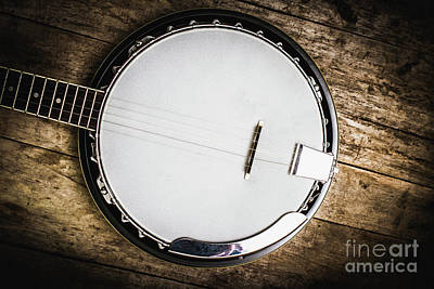 Banjo Photograph - Country And Western Songs by Jorgo Photography - Wall Art Gallery