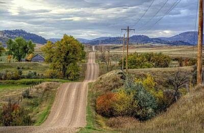 Photograph - Country Autumn by Fiskr Larsen