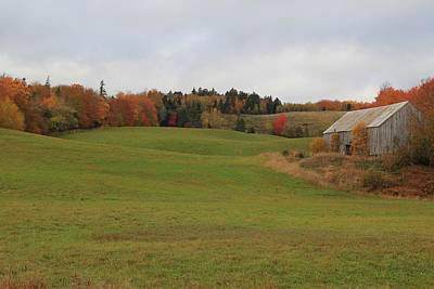 Photograph - Country Autumn - Landscape by Kathleen Sartoris