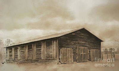 Digital Art - Country Barn by Bill And Deb Hayes