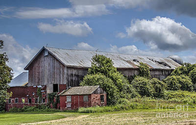 Photograph - Country Barn by Joann Long