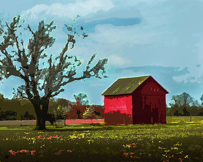 Photograph - Country Barn by Michael Arend