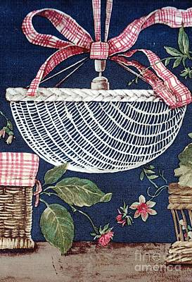 Drawing - Country Basket by Writermore Arts