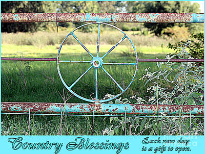 Photograph - Country Blessings by Kathy  White
