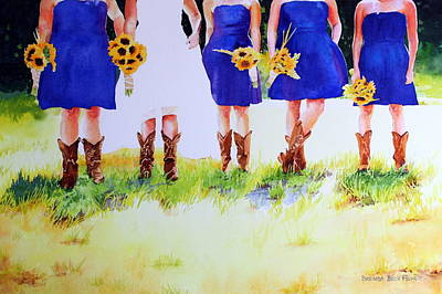 Painting - Country Bride by Brenda Beck Fisher