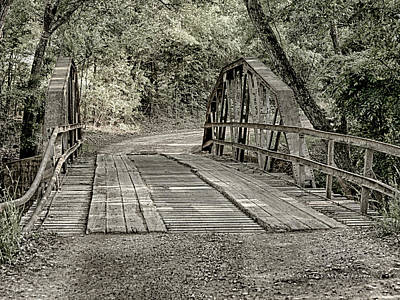 Photograph - Country Bridge by Charles McKelroy