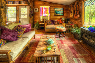 Photograph - Country Cabin by Daniel George