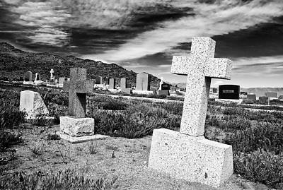 Photograph - Country Cemetery by Mick Burkey
