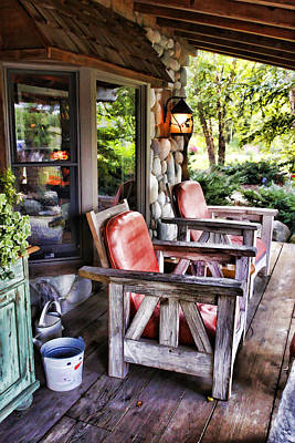 Country Chairs Original by Paul Bartoszek