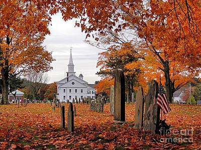 Photograph - Country Church by Janice Drew