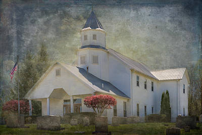 Photograph - Country Church by Paula Ponath