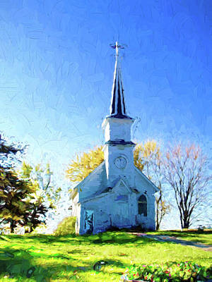 Photograph - Country Church by Susan Crossman Buscho