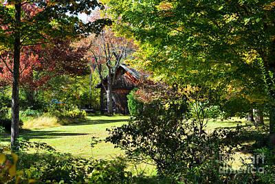 Warren Connecticut Photograph - Country Cottage by Andrea Simon