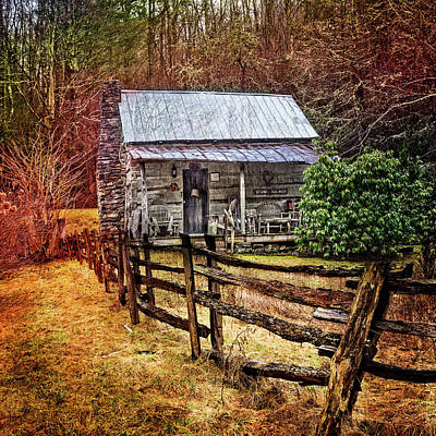 Charming Cottage Photograph - Country Cottage Farm by Debra and Dave Vanderlaan