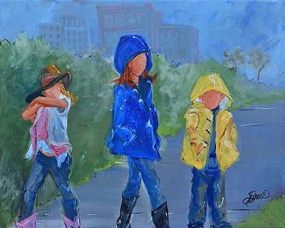 Painting - Country Cousin by Terri Einer